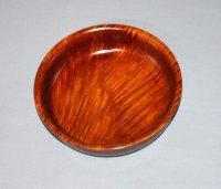 菓子器 楓杢 直径21.5cm 高さ 5.5cm 本漆塗り