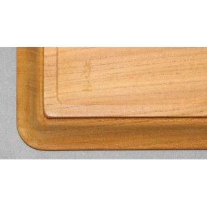 画像4: 角盆欅白木地仕上げ 縦12cm横36.5cm厚み3cm